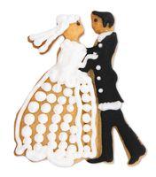 Städter Edelstahl Ausstecher Brautpaar 8 cm Prägeform – Bild 3