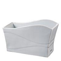 Hario Papierkaffeefilter Spender Keramik weiß Kaffeefilterhalter