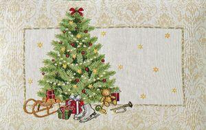 Sander Weihnachten Gobelin Motiv x-mas Eve Platzset Tischset 32 x 48 cm