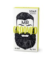 The Somerset Toiletry Herrenseife Herren Luxusseife Mr. Groomed Duft Cedarwood und Lemongras 200 g – Bild 1