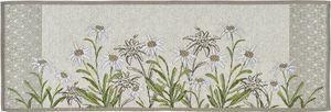 Sander Gobelin Platzset Tischset Motiv Edelweiss 32 x 48 cm floral
