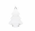 WMG Glas Tannenbaum mit Spitze zum Öffnen 25 cm Weihnachten