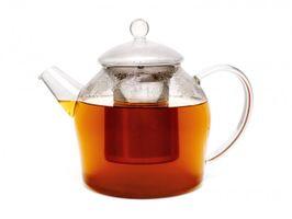Bredemeijer Teekanne Minuet Glas 1200 ml mit Edelstahlfilter