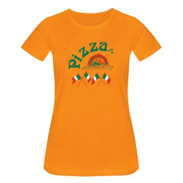 T-Shirt Pizzeria Pizza-Lovers Karneval Fun-Shirt Party 15 Farben Damen XS - 3XL – Bild 16