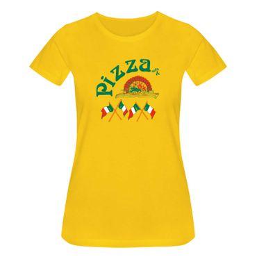 T-Shirt Pizzeria Pizza-Lovers Karneval Fun-Shirt Party 15 Farben Damen XS - 3XL – Bild 17