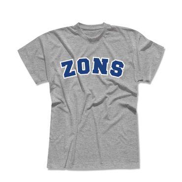 T-Shirt Zons College Style Geschenk Präsent Dormagen 7 Farben Herren XS-5XL – Bild 1
