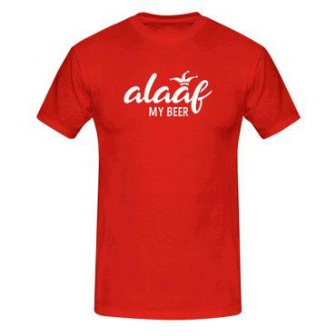 T-Shirt Alaaf my Beer Kostüm Bier Karneval Fasching Köln 13 Farben Herren XS-5XL – Bild 1