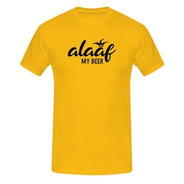 T-Shirt Alaaf my Beer Kostüm Bier Karneval Fasching Köln 13 Farben Herren XS-5XL – Bild 15