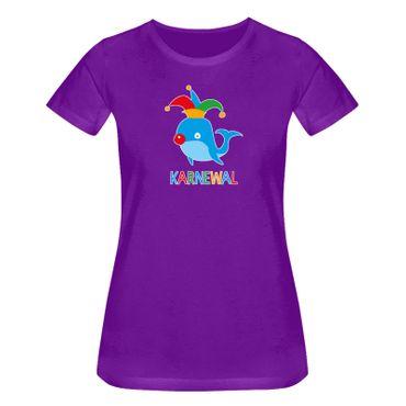 T-Shirt Karnewal Fasching Kostüm Verkleidung Humor Witz 15 Farben Damen XS-3XL  – Bild 14