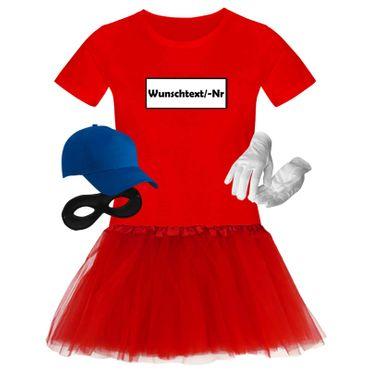 T-Shirt Panzerknacker Deluxe+ Kostüm-Set + Tütü Karneval Fasching Damen XS-3XL – Bild 10