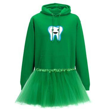 Hoodie Zahnfee + Tütü Tüllrock Kostüm Fasching Karneval 12 Farben Herren XS-5XL – Bild 6