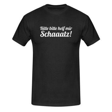 T-Shirt Bitte helf mir Schatz! Spruch Humor Witz lustig 13 Farben Herren XS-5XL – Bild 3