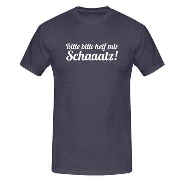 T-Shirt Bitte helf mir Schatz! Spruch Humor Witz lustig 13 Farben Herren XS-5XL – Bild 6