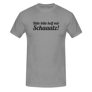 T-Shirt Bitte helf mir Schatz! Spruch Humor Witz lustig 13 Farben Herren XS-5XL – Bild 7
