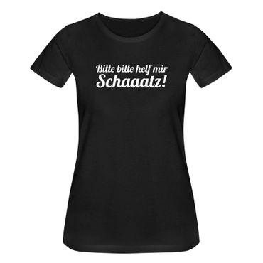 T-Shirt Bitte helf mir Schatz! Spruch Humor Witz lustig 15 Farben Damen XS-3XL – Bild 3