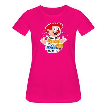 T-Shirt Joode Saache Maache Karneval Motto 2021 Bonn 15 Farben Damen XS-3XL – Bild 1
