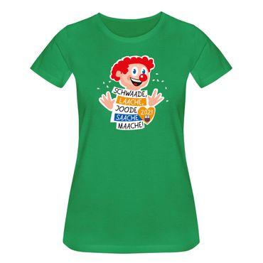 T-Shirt Joode Saache Maache Karneval Motto 2021 Bonn 15 Farben Damen XS-3XL – Bild 9
