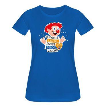 T-Shirt Joode Saache Maache Karneval Motto 2021 Bonn 15 Farben Damen XS-3XL – Bild 11