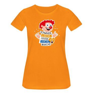 T-Shirt Joode Saache Maache Karneval Motto 2021 Bonn 15 Farben Damen XS-3XL – Bild 16