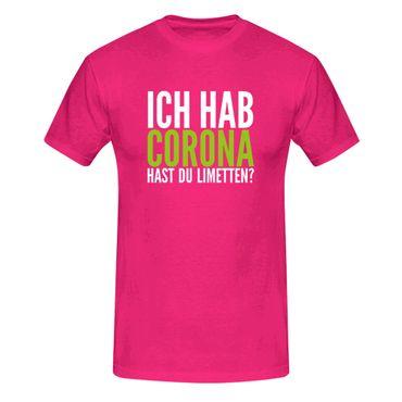 T-Shirt Hast Du Limetten? Corona Spruch Fun-Shirt Party 13 Farben Herren XS-5XL – Bild 5