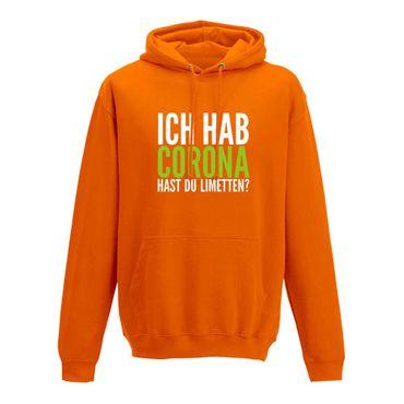 Hoodie Hast Du Limetten? Corona Spruch Fun-Shirt Party 10 Farben Herren XS - 5XL – Bild 11