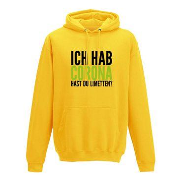 Hoodie Hast Du Limetten? Corona Spruch Fun-Shirt Party 10 Farben Herren XS - 5XL – Bild 12