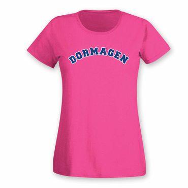 Dormagen T-Shirt Damen College Style Geschenk Präsent Dormagen 8 Farben XS-3XL – Bild 14