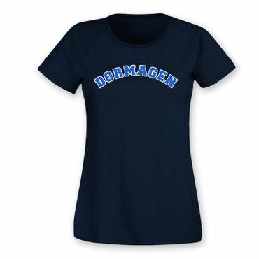 Dormagen T-Shirt Damen College Style Geschenk Präsent Dormagen 8 Farben XS-3XL – Bild 10