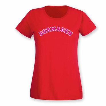 Dormagen T-Shirt Damen College Style Geschenk Präsent Dormagen 8 Farben XS-3XL – Bild 22