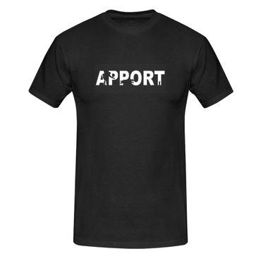 T-Shirt  Apport Retriever Dummy-Arbeit Hund Hundesport 13 Farben Herren XS-5XL – Bild 1