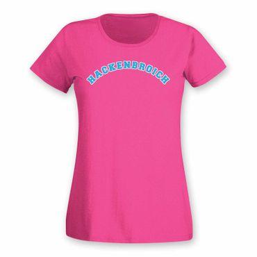 Hackenbroich T-Shirt Damen College Style Geschenk Präsent Dormagen 8 Farben XS-3XL – Bild 1