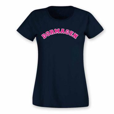 Hackenbroich T-Shirt Damen College Style Geschenk Präsent Dormagen 8 Farben XS-3XL – Bild 24