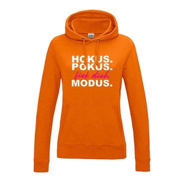 Hoodie Hokus Pokus F*** Dich Modus Fun Witz genervt 12 Farben Damen XS - 2XL – Bild 13