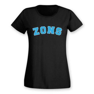 T-Shirt Zons College Style Geschenk Präsent Dormagen 8 Farben Damen XS-3XL – Bild 5