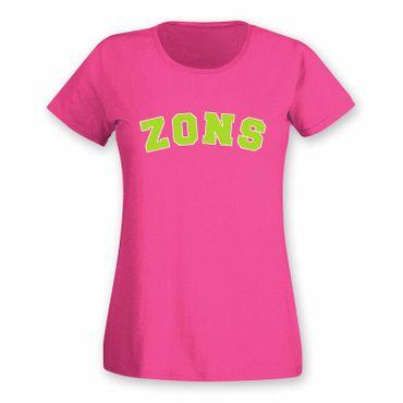 T-Shirt Zons College Style Geschenk Präsent Dormagen 8 Farben Damen XS-3XL – Bild 13