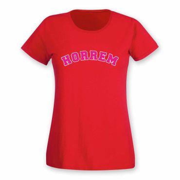 Horrem T-Shirt Damen College Style Geschenk Präsent Dormagen 8 Farben XS-3XL – Bild 25