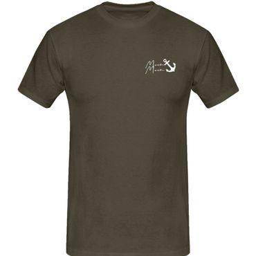 T-Shirt Moin Moin Anker Norden Hamburg See-fahrt Gruss 13 Farben Herren XS-5XL – Bild 9