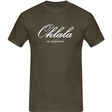 T-Shirt Ohlala Ok Doch nicht Flirten Witz Irrtum Ironie 13 Farben Herren XS-5XL – Bild 9