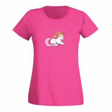 T-Shirt Einhorn bunt Unicorn Beauty Pferd Märchen CSD 15 Farben Damen XS - 3XL – Bild 5