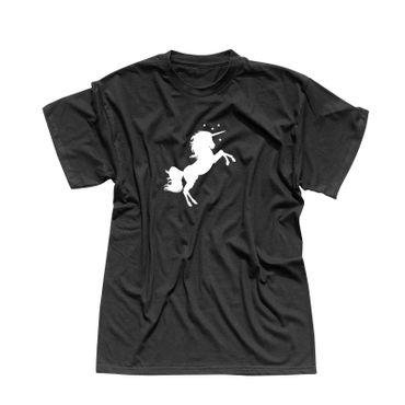 T-Shirt Einhorn Unicorn Beauty Pferd Prinz Märchen CSD 13 Farben Herren XS - 5XL – Bild 1
