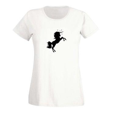 T-Shirt Einhorn Unicorn Beauty Pferd Prinzessin Märchen 15 Farben Damen XS - 3XL – Bild 4