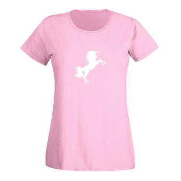 T-Shirt Einhorn Unicorn Beauty Pferd Prinzessin Märchen 15 Farben Damen XS - 3XL – Bild 6