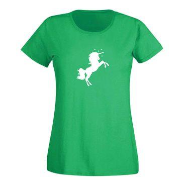 T-Shirt Einhorn Unicorn Beauty Pferd Prinzessin Märchen 15 Farben Damen XS - 3XL – Bild 9