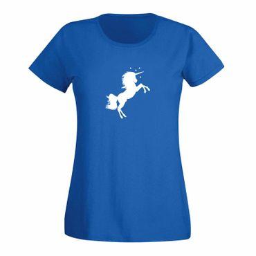 T-Shirt Einhorn Unicorn Beauty Pferd Prinzessin Märchen 15 Farben Damen XS - 3XL – Bild 11