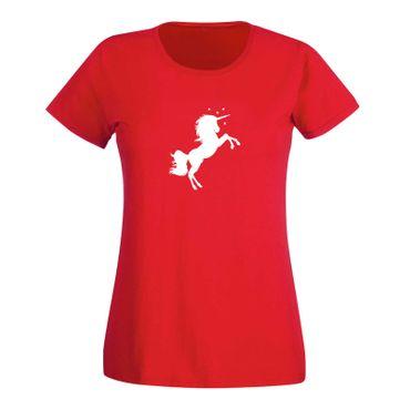 T-Shirt Einhorn Unicorn Beauty Pferd Prinzessin Märchen 15 Farben Damen XS - 3XL – Bild 15