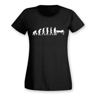 T-Shirt Evolution Chiropraktiker Chiro Physiotherapeutin15 Farben Damen XS - 2XL – Bild 3
