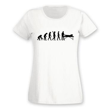 T-Shirt Evolution Chiropraktiker Chiro Physiotherapeutin15 Farben Damen XS - 2XL – Bild 4
