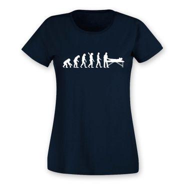 T-Shirt Evolution Chiropraktiker Chiro Physiotherapeutin15 Farben Damen XS - 2XL – Bild 10