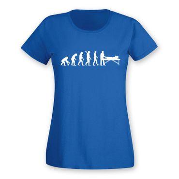 T-Shirt Evolution Chiropraktiker Chiro Physiotherapeutin15 Farben Damen XS - 2XL – Bild 11