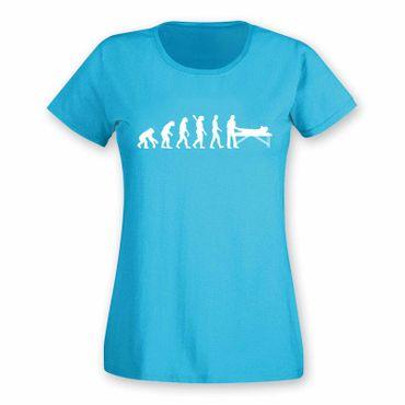 T-Shirt Evolution Chiropraktiker Chiro Physiotherapeutin15 Farben Damen XS - 2XL – Bild 12